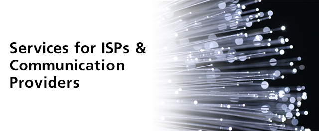 SoftBank's Services for ISPs & Communication Providers